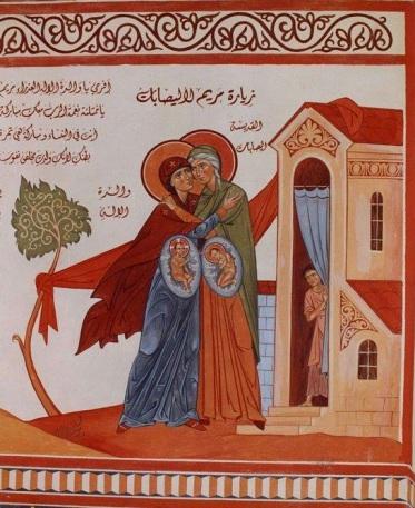 La+Visitazione+della+Madre+di+Dio+icona+libanese